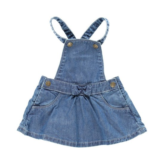 Robe salopette collection Bord de mer Fille Denim  de Noukies
