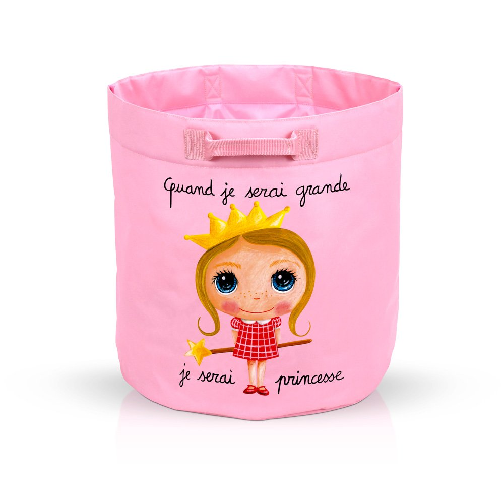 Sac à jouets Princesse  de Label Tour