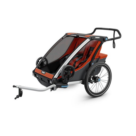 Remorque Cross 2 pour 2 enfants Orange  de Thule