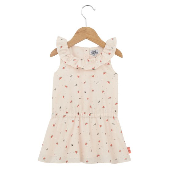Robe volant collection Sunny Paradise Fille Imprimé Watermelon  de Nano & nanette