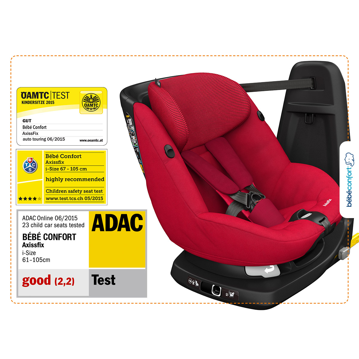 AxissFix Frequency Black  de Bébé Confort