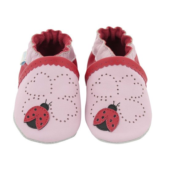 Chaussons coccinelle