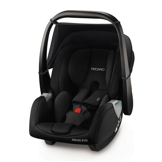 Privia Evo Performance Black  de Recaro