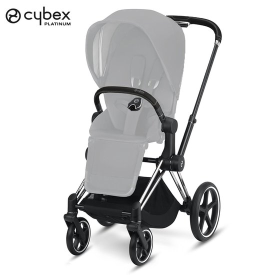 Priam Châssis Chrome Simili Black  de Cybex