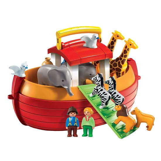 Arche de Noé transportable    de Playmobil