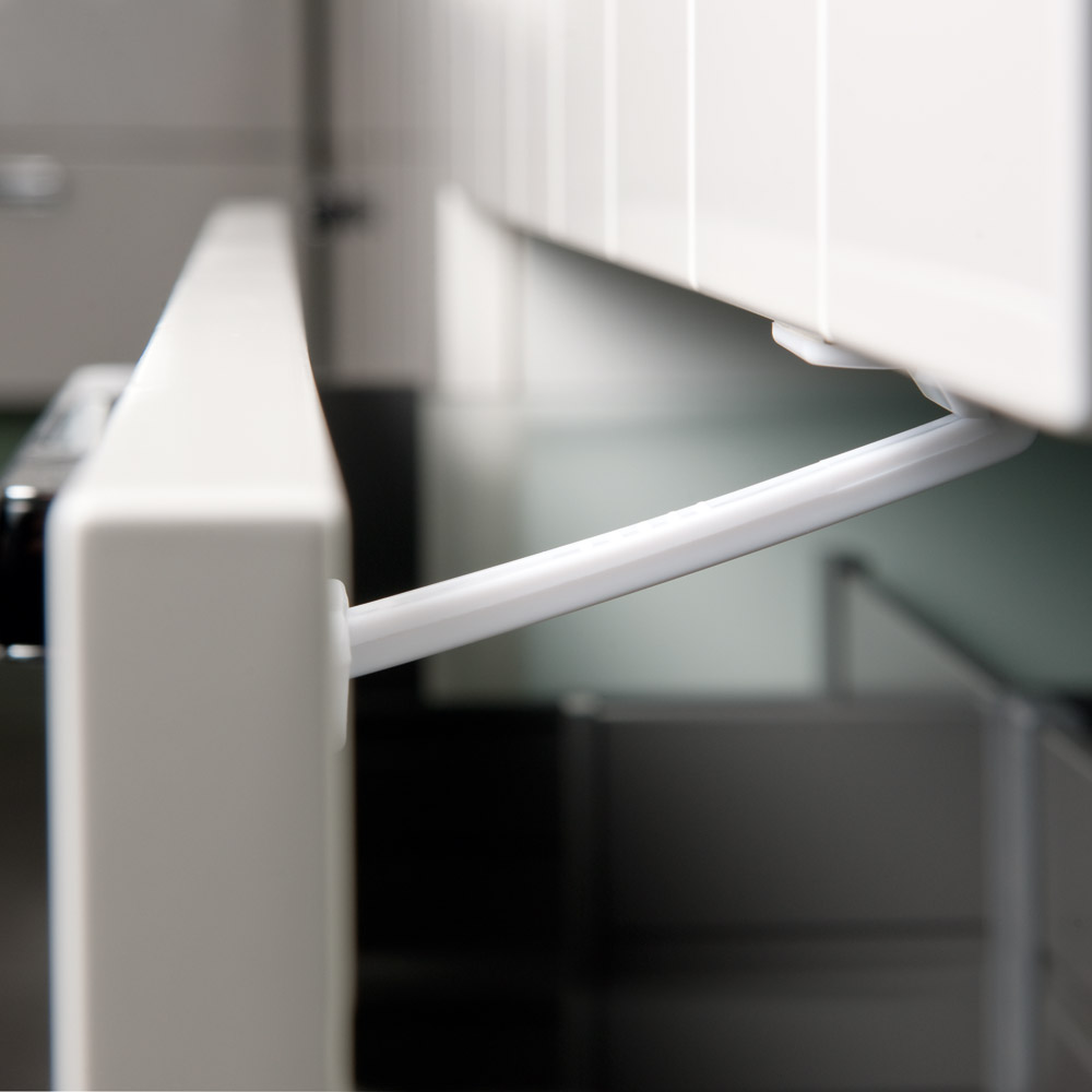 Cran de sécurité pour tiroir x 2 Blanc  de Aubert concept