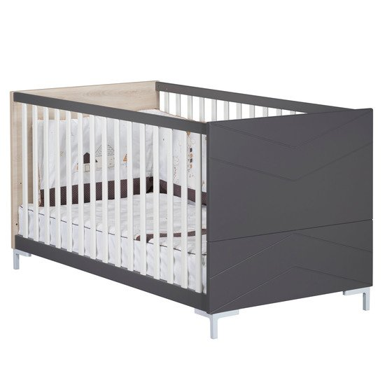 Dark Grey Little Big Bed 70x140cm