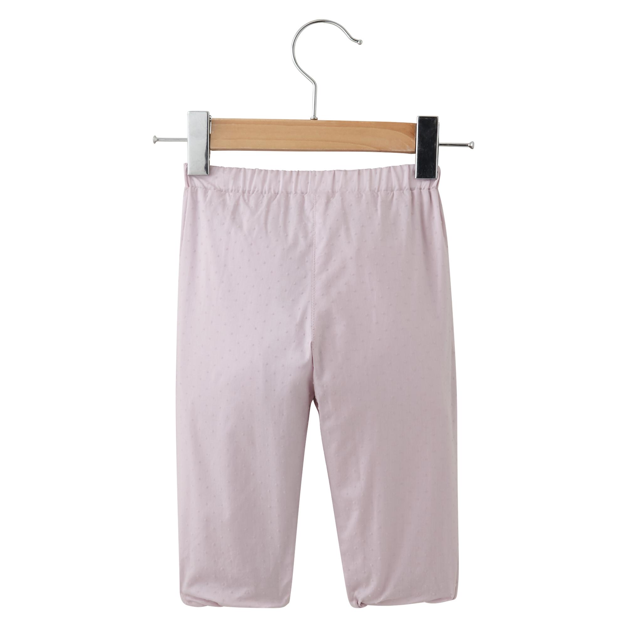 Mini Rose pantalon Rose  de P'tit bisou