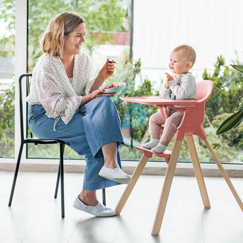 Stokke® Clikk™ chaise haute Gris cloud  de Stokke®