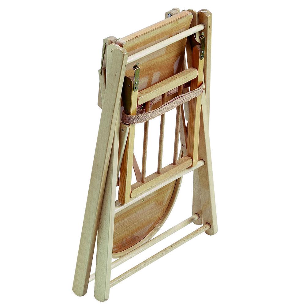 Chaise Sarah extra-pliante Taupe 2016  de Combelle