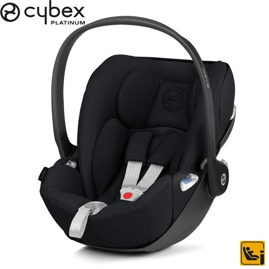 Cloud Z i-size Deep Black/Black  de Cybex