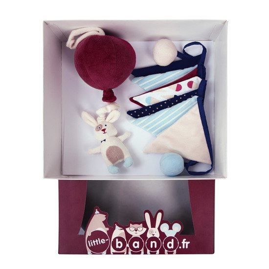 Balloon Company coffret peluche musicale + fanions Multicolore  de Little Band