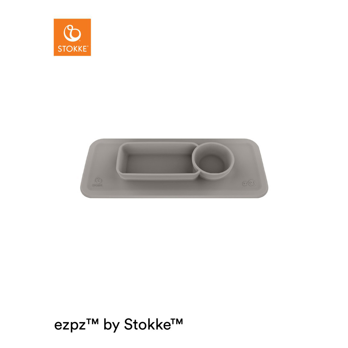Set de table pour plateau Clikk™ Soft Grey  de Stokke®