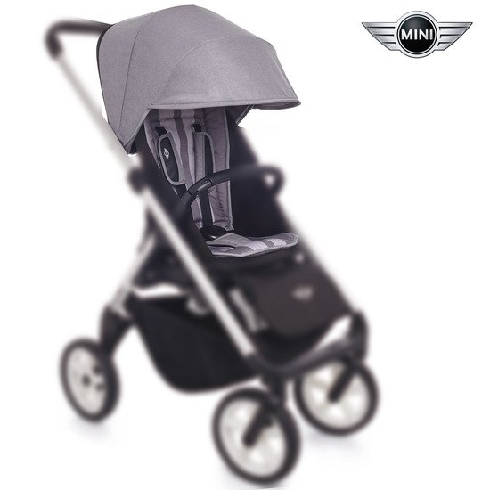 Mini Stroller pack assise Moonwalk Grey  de Easywalker