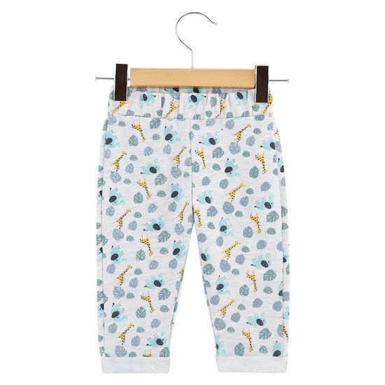 Pantalon imprimé Little Friends Gris  de P'tit bisou