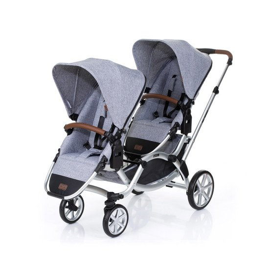 Zoom Poussette double Graphite Grey  de ABC Design