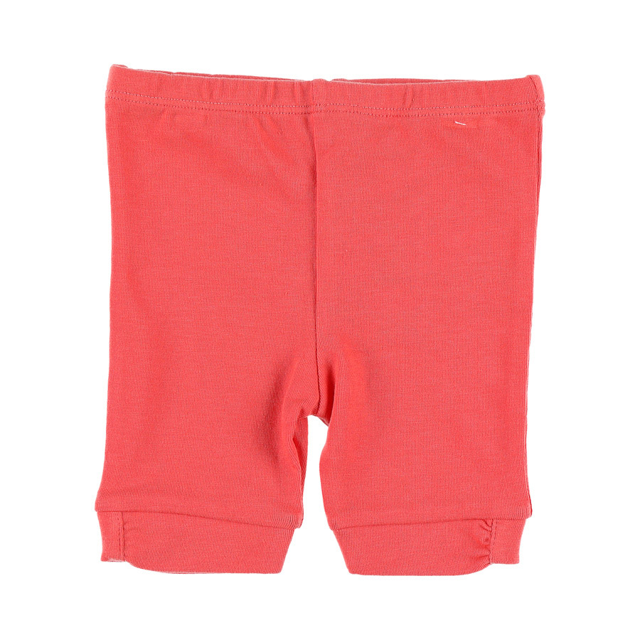 Jegging 3/4 collection Bord de mer Fille Rouge 3 mois de Noukies