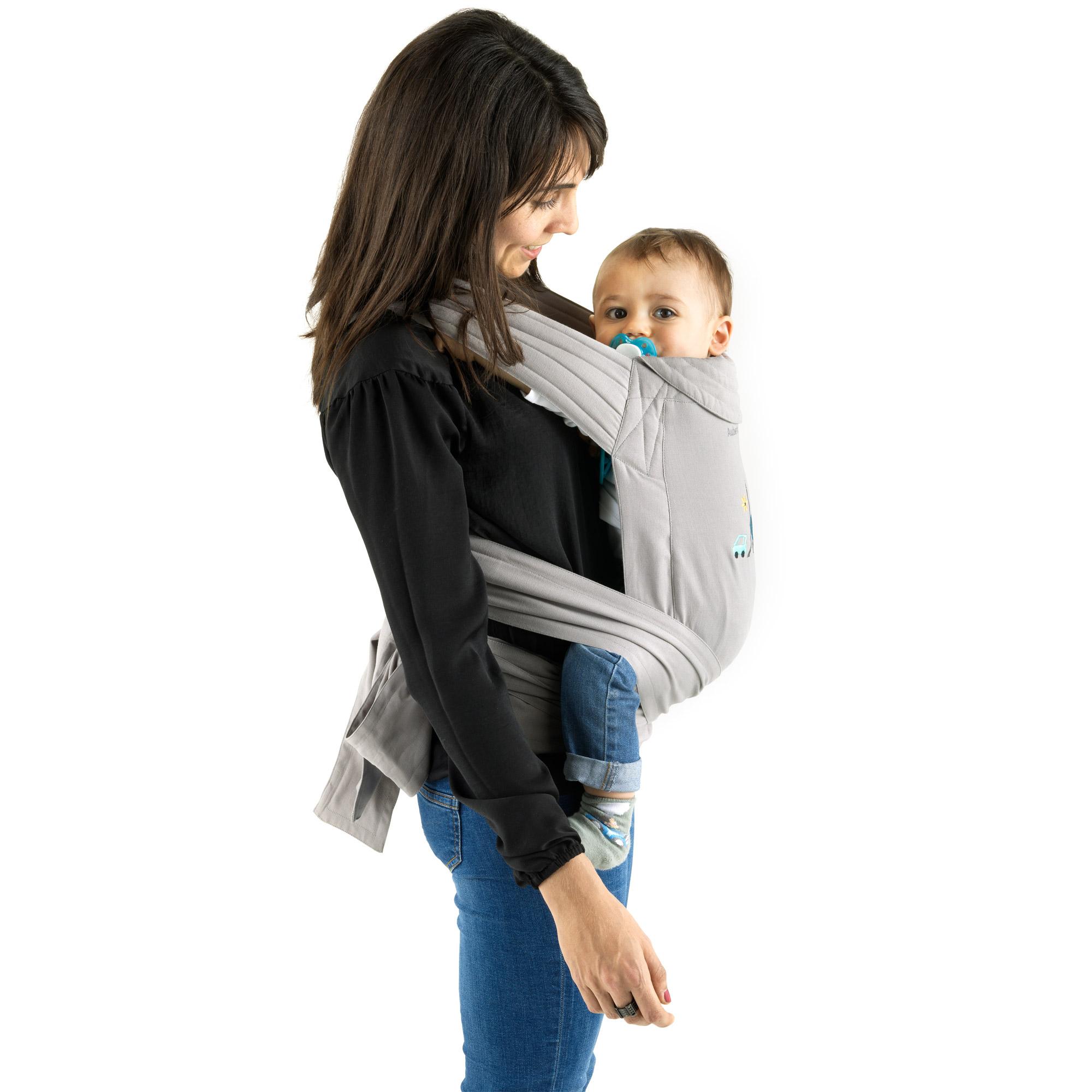 Porte enfant souple Beige  de Aubert concept