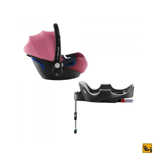 Pack baby-safe 2 i-Size Wine Rose  de Britax