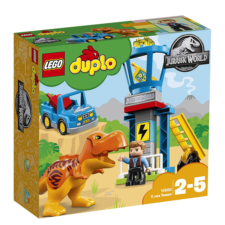 La Tour T Lego® Rex Du Multicolore Duplo®Autres Jurassic De World mnwN08