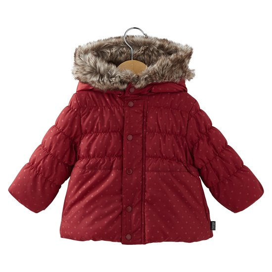 Parka imprimée collection Manhattan Walk Fille Rouge  de Nano & nanette