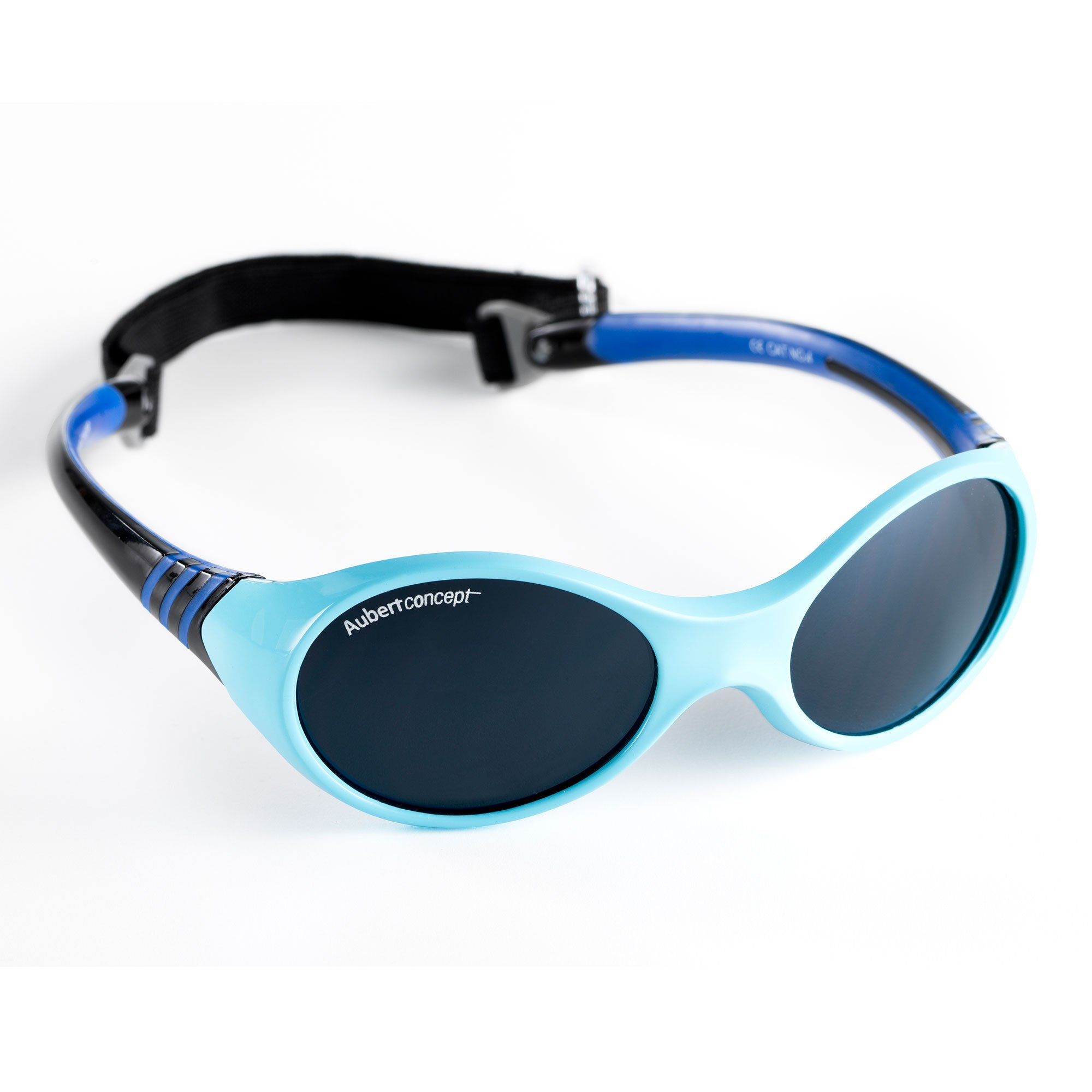 ca0c72a361698 Lunettes de soleil Baby Classic Bleu de Aubert concept