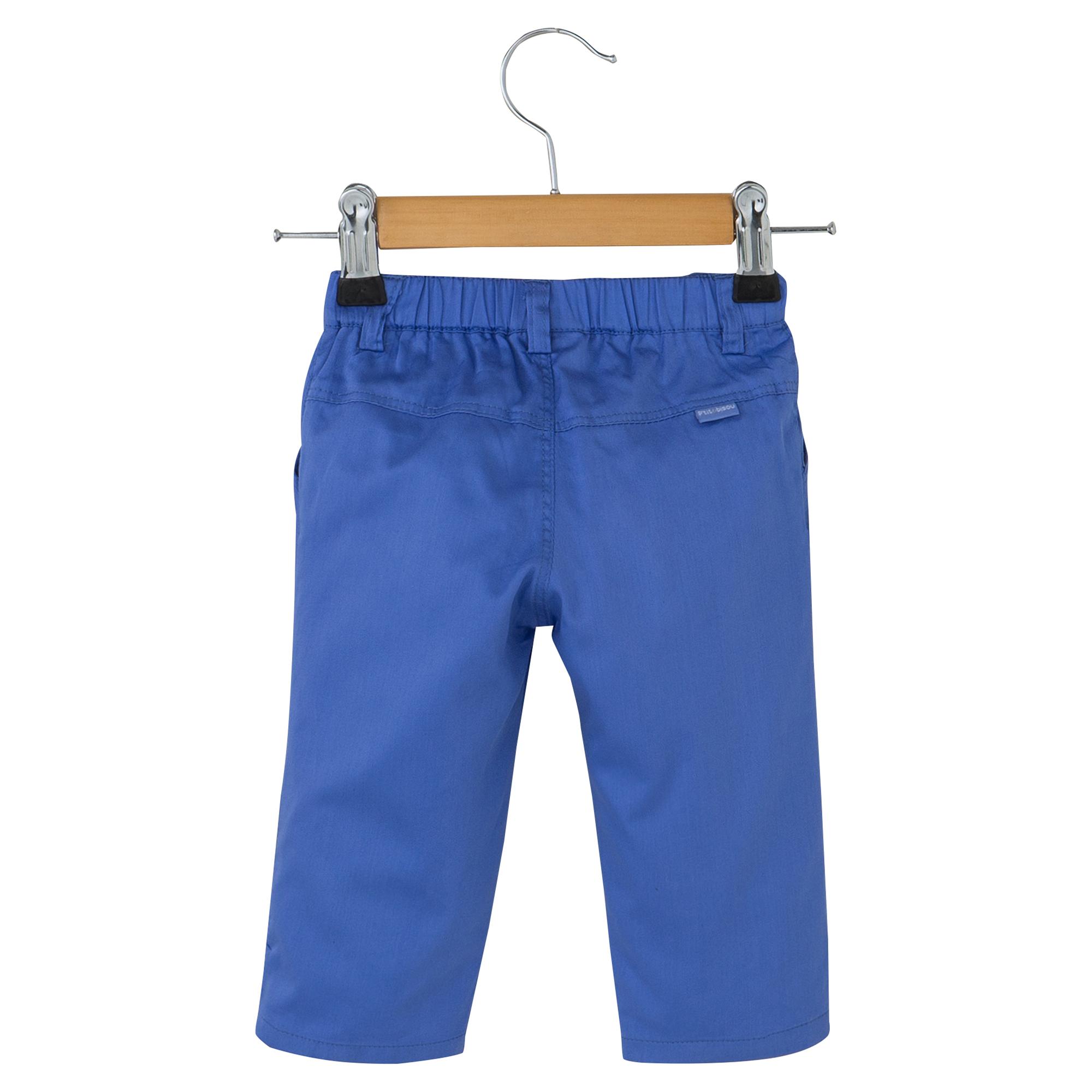 Pantalon collection Perles d'été Bleu  de P'tit bisou