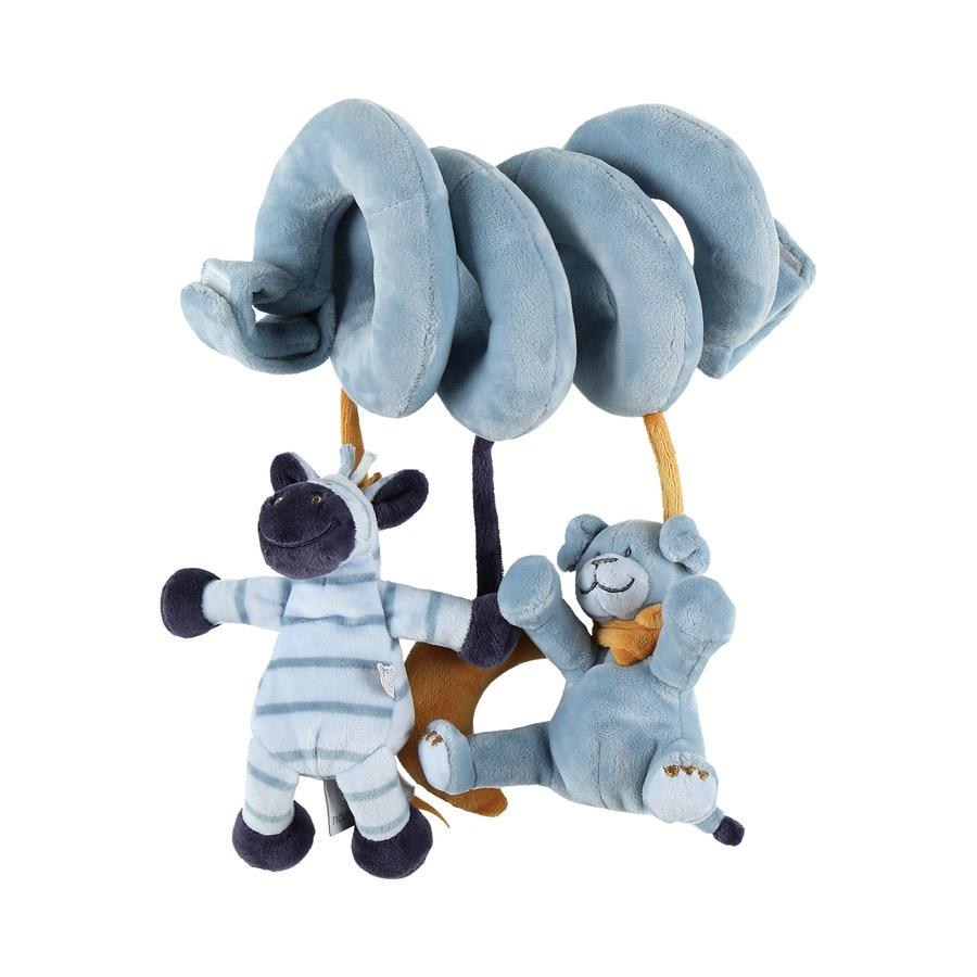 Achille & Zebrito spirale d'activités Bleu  de Noukies