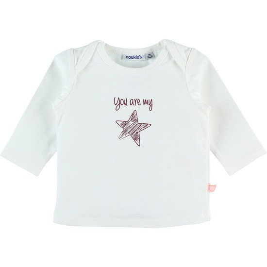 T-shirt Coton Bio Collection Noukies Cocon Hiver   de Noukies