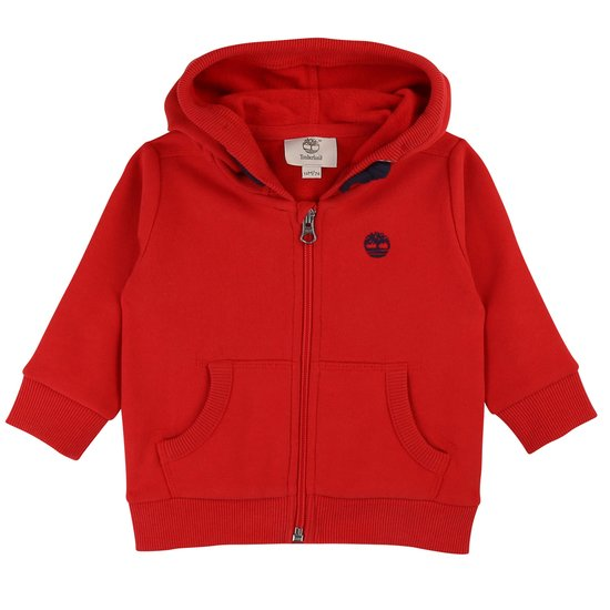 Cardigan capuche collection Timberland Hiver 2019 Tomate  de Timberland