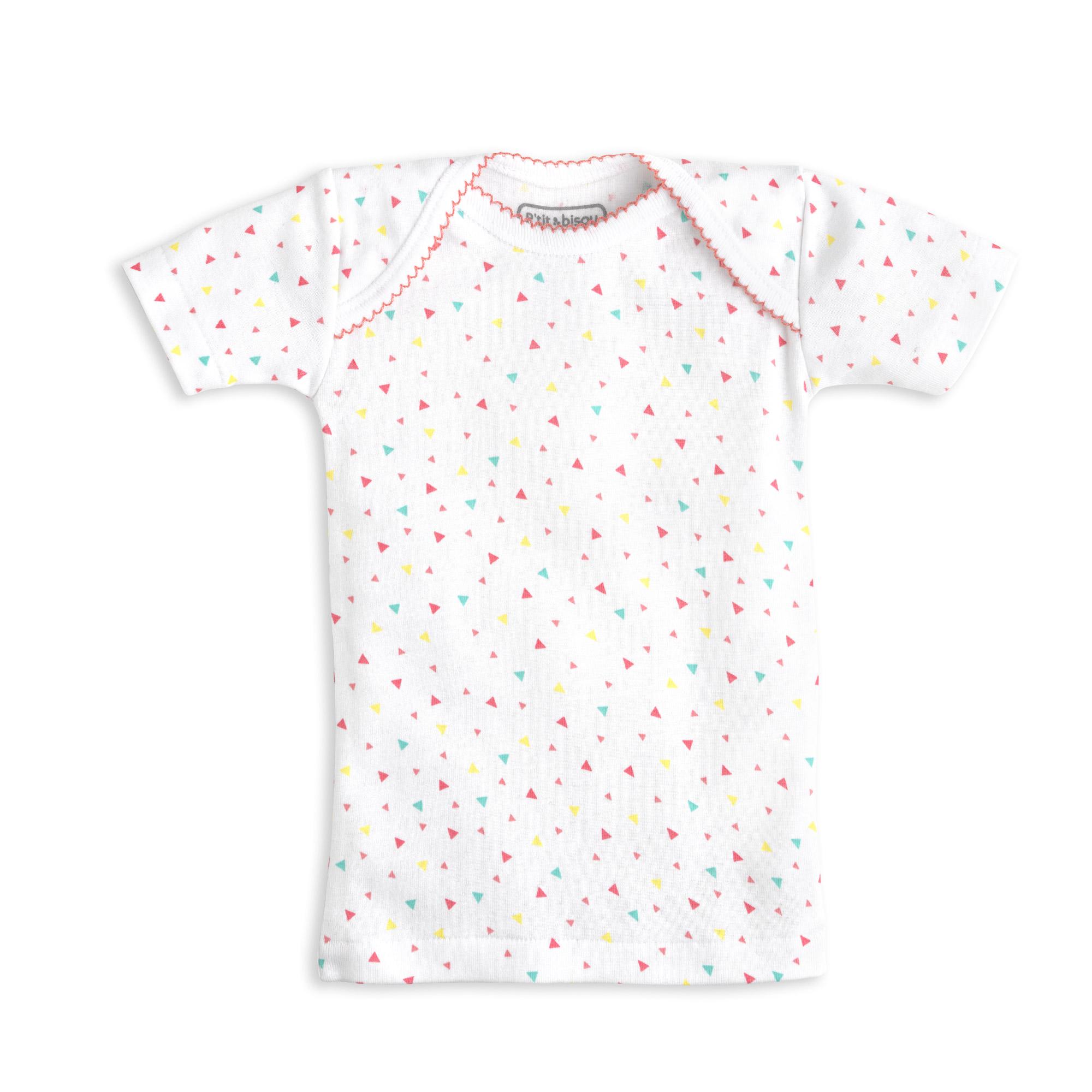 Lot de 2 t-shirts collection été 2018 Pastèque  de P'tit Bisou Trousseau