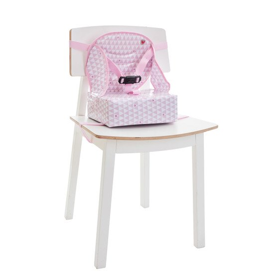 Rehausseur Easy Up Pink heart  de Babytolove