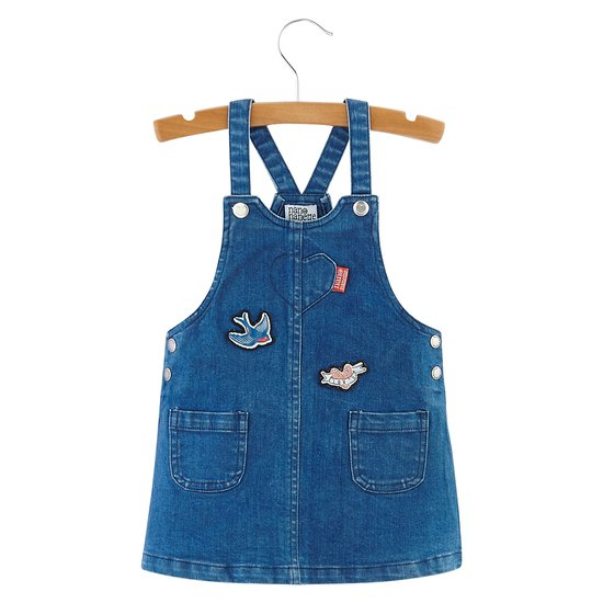 Robe denim collection Nashville Music City Fille Bleu  de Nano & nanette