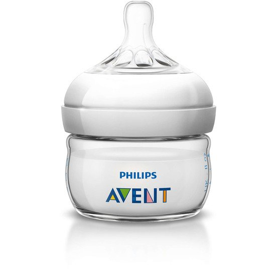 Biberon Natural PP Transparent 60 ml de Philips AVENT