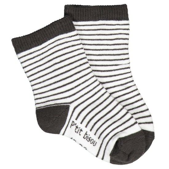 Chaussettes rayées collection Monsieur Chic