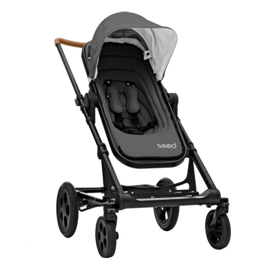 Papilio Seed Black Cognac / Leather Dark Grey  de Britax