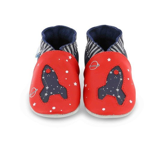Chaussons planet travel Rouge  de Robeez