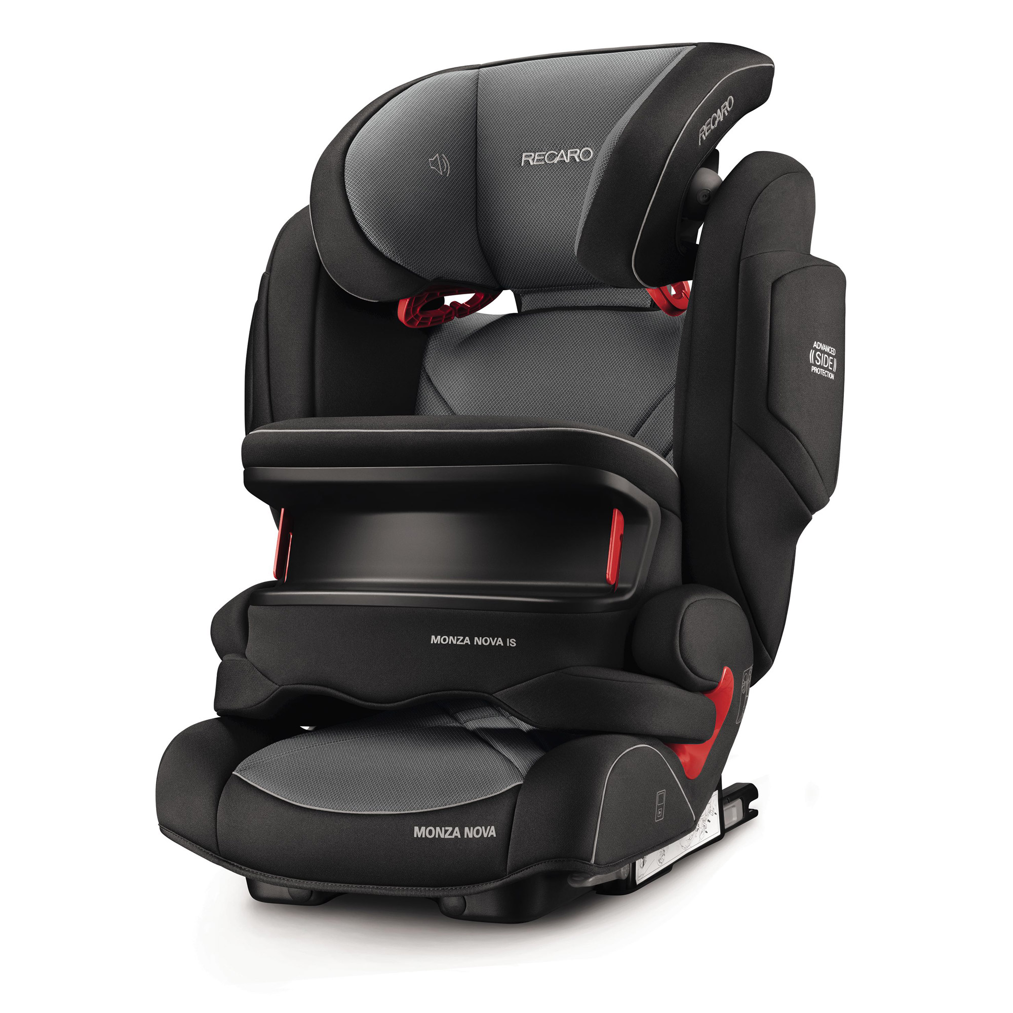 Monza Nova IS Seatfix Carbon Black  de Recaro
