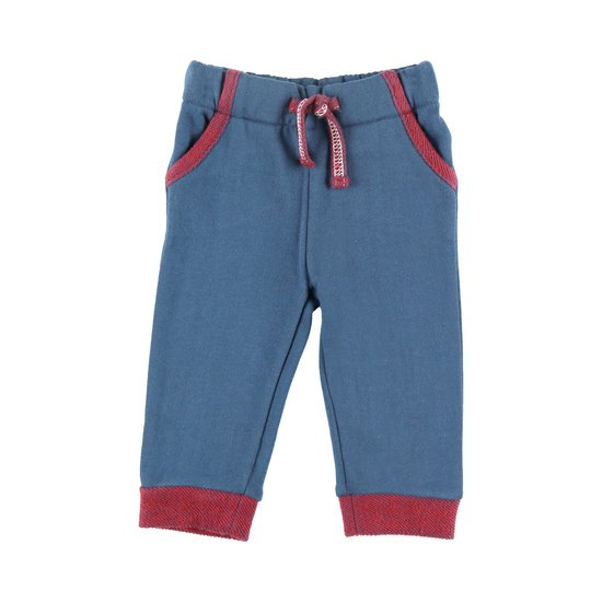 Pantalon en molleton collection Bord de mer Marine  de Noukies