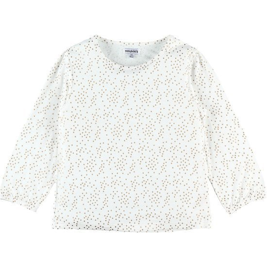 T-shirt Fille Lurex Collection Smart Pois  de Noukies