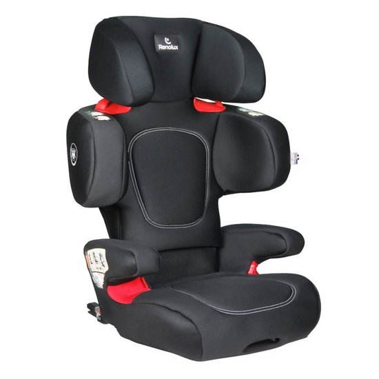 Renofix Groupe 2/3 Isofix inclinable Softness®  Noir  de Renolux