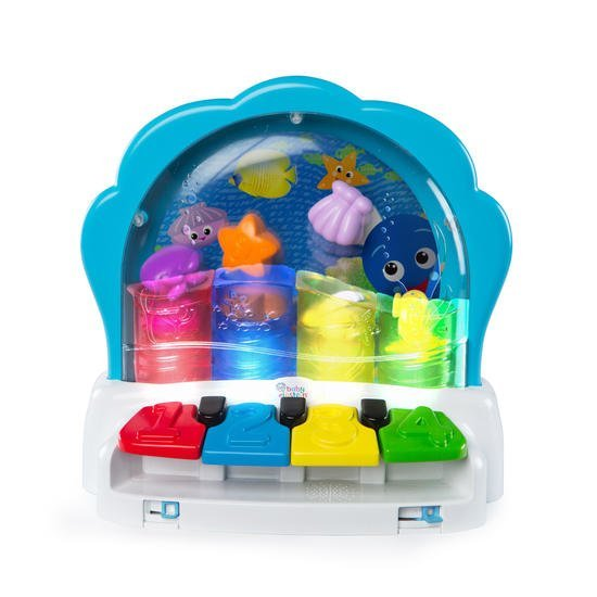 Pop & Glow piano la palourde musicale Multicolore  de Baby Einstein