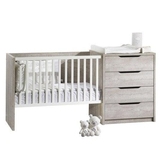 Lit combiné évolutif & transformable, lits chambre bébé : Aubert