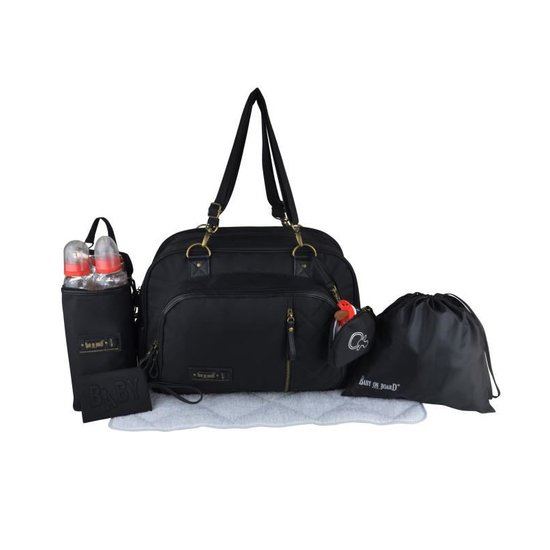 Sac à langer Daily Black  de Baby On Board