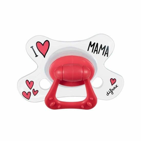 Sucette Natural 12-18 mois I love papa/mama    de Difrax