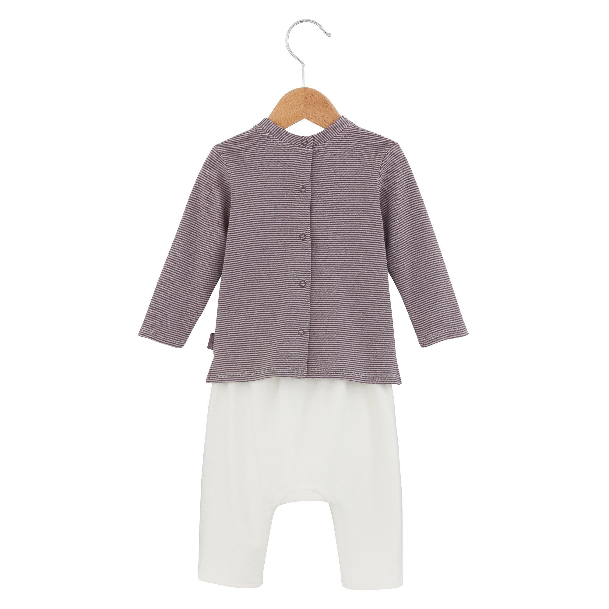 Ensemble pantalon collection Petit Cocon Violet  de P'tit Bisou Trousseau