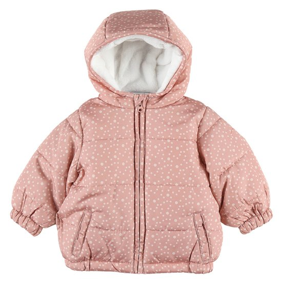Anorak collection Cocon Fille 2019 Rose 6 mois de Noukies