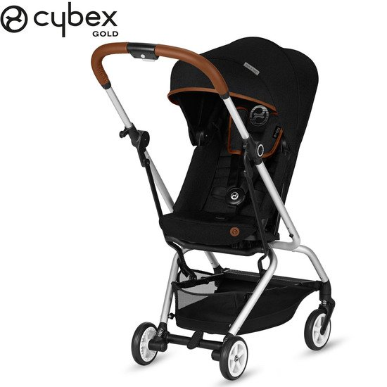 Eezy S Twist Denim Lavastone Black  de Cybex