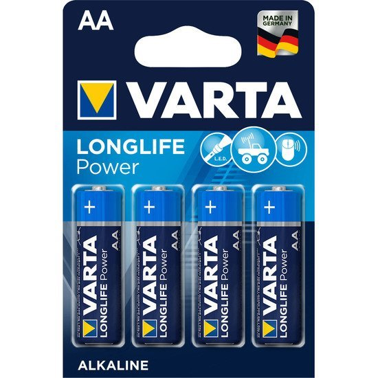 Longlife Power AA/LR06 x4   de Varta