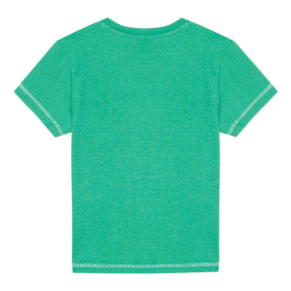 T-shirt baleine Vert  de 3pommes